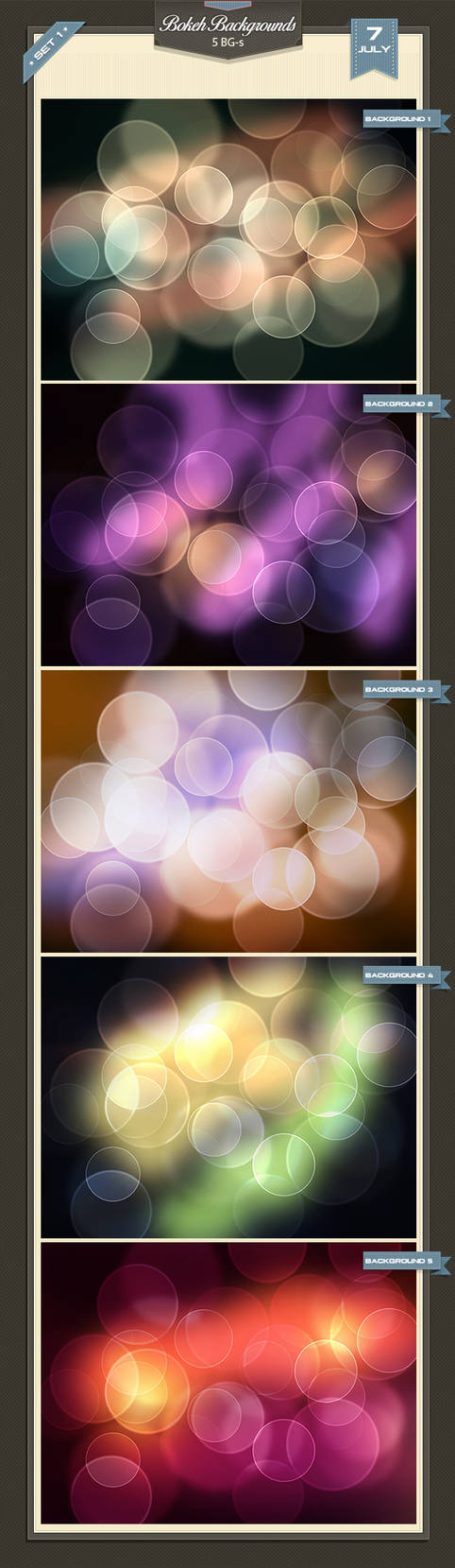 Bokeh Backgrounds 1