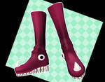 MMD Star's boots