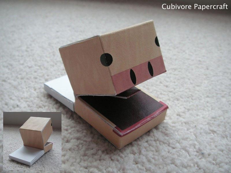 Cubivore Papercraft by JaffaCakeLover