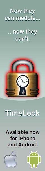 TimeLock - Vertical Banner Ad