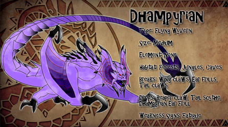 Monster Hunter Concept: Dhampyrian
