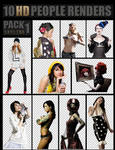 PEOPLE RENDERS PACK 1 ~ HD