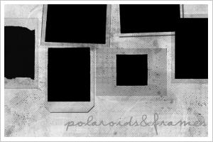 Polaroids and Frames 100x100 by xxKittyKatexx