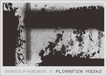 Flowerish Masks by xxKittyKatexx