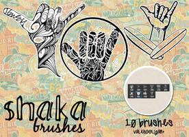 Shaka Brushes+10 by ValeHooligan