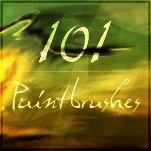 101 Gimp Paintbrushes by Xelar-art