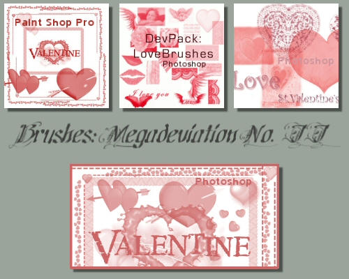 Valentine - Megadevpack02 by brushes