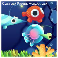 Custom Panel Aquarium by Volcanic-Penguin