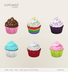 cupcakes iconset