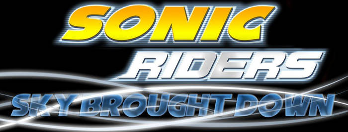 Sonic Riders Sky Brought Down Cover