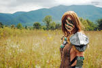 Aela the Huntress cosplay by April Gloria