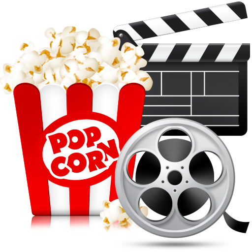 Movies and Popcorn Folder Icon by matheusgrilo on DeviantArt