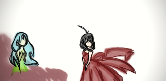 the red dress by larry56789