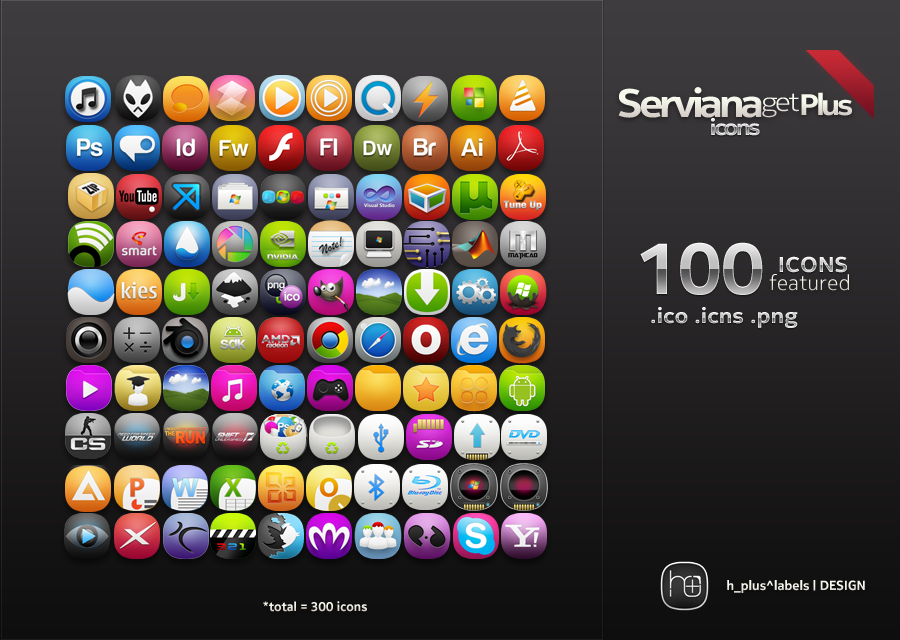 ServianaGetPlus The Icon