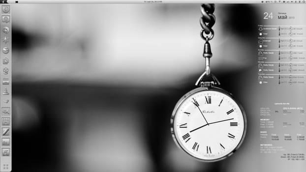 CAI Clock Conky HiRes(1920x1080)