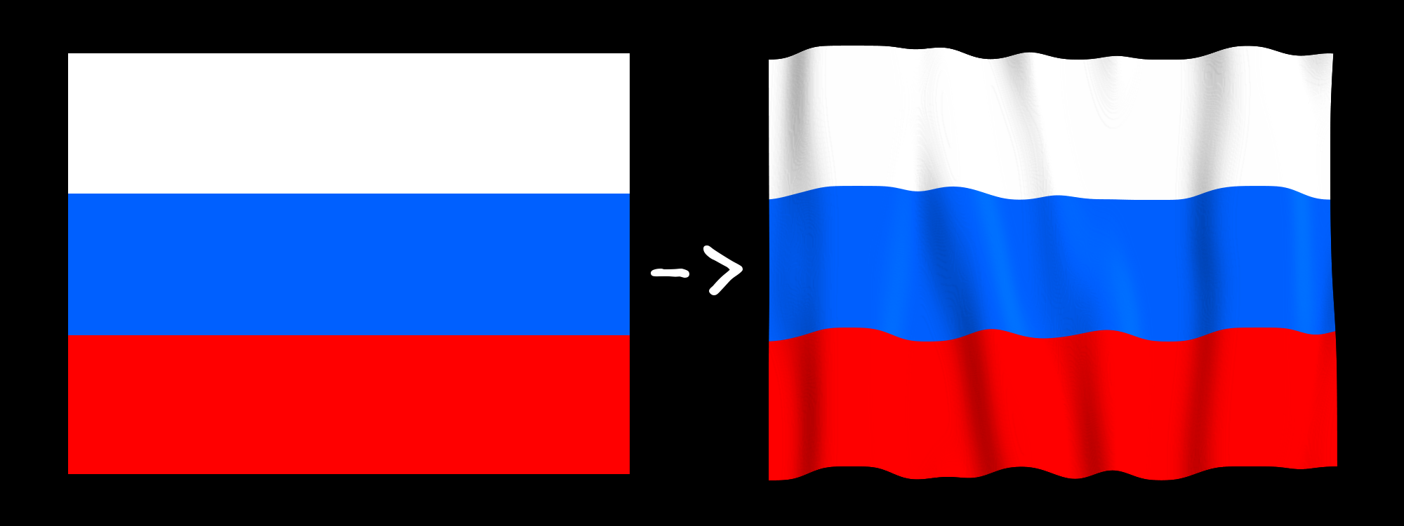 Waving flag script-fu