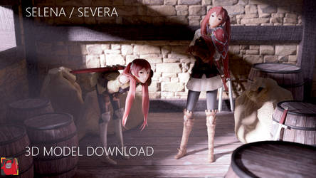 Fire Emblem: Selena / Severa 3d Model Download