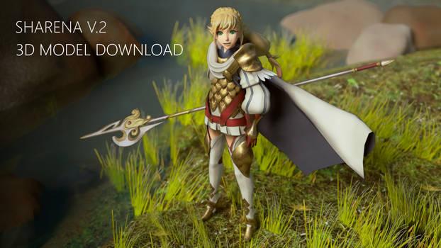 Fire Emblem: Sharena 3D Model download V.2