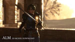 Fire Emblem: Alm 3D Model Download