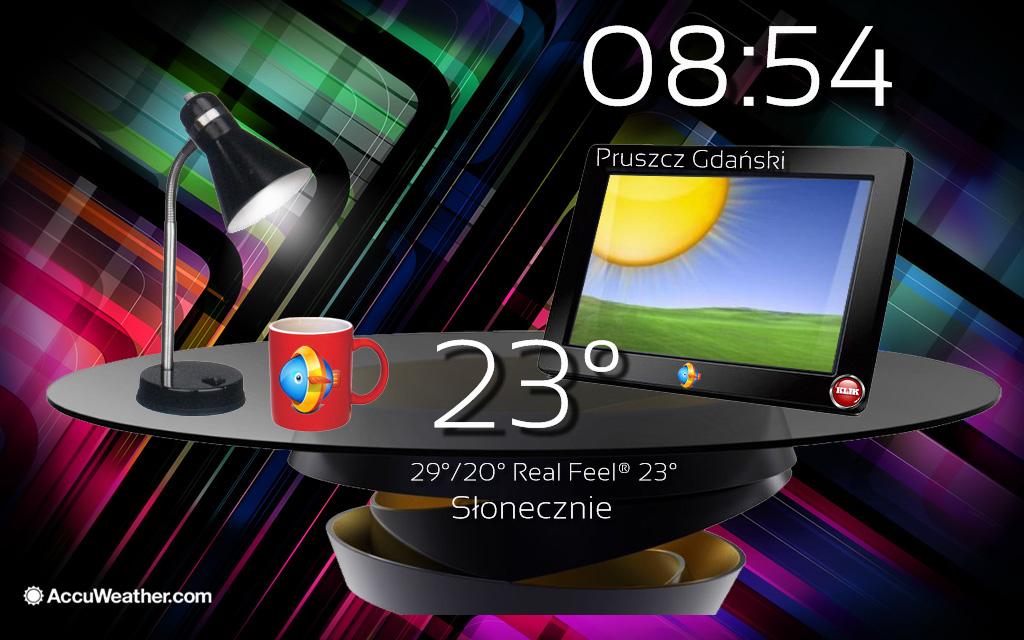 Table Weather Widget by Slavoo123