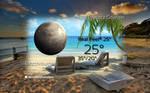 Desert Island 4 Weather Widget