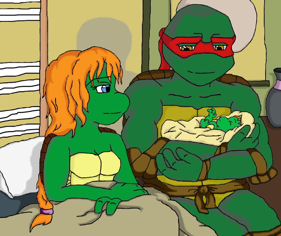 TMNT - Fanfic - A new kind of happiness by becky016 on