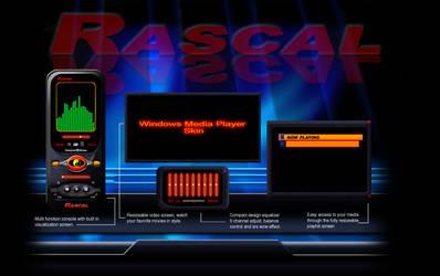 WMP Skin - Rascal by psutton