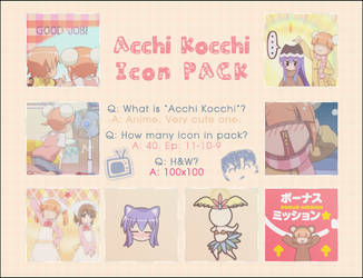 Acchi Kocchi Icons by Cuiloxeth