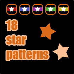 Stars Patterns by Irialis