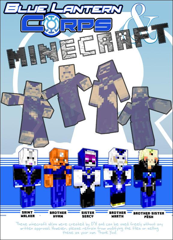 Blue Lantern Minecraft Skins by xxdhxx