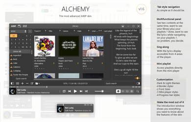 Alchemy (Skin for AIMP4) [v1.6]