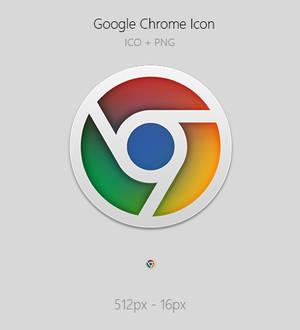 Google Chrome Icon (ICO+PNG)