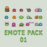 Emote Pack 01 by hellspardon