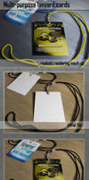 Multipurpose Hanging Card Mockup (FREE SAMPLE)