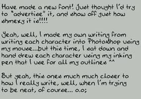 Jems Pen Font