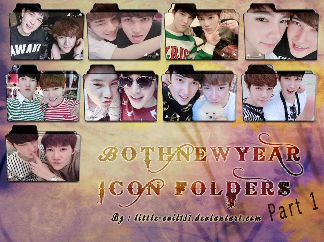 Both Newyear icon folders part 1 by Little-evil137