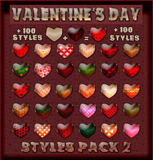 Valentine's Day  Styles Pack 2