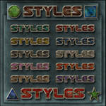 STYLES   Old colors metallic