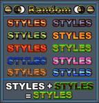 Random   Styles Ps
