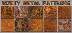 Rusty Metal   Patterns Ps