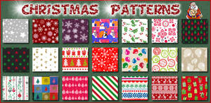 Christmas   Patterns Ps