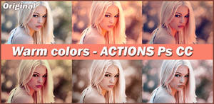 ACTIONS  Warm Colors
