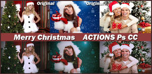 Merry Christmas    ACTIONS Ps CC