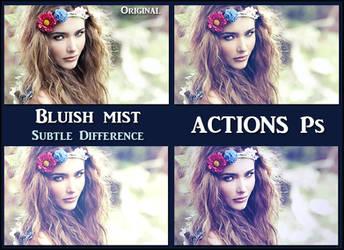 Bluish mist   ACTIONS Ps