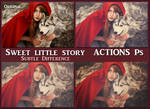 Sweet little story   ACTIONS Ps