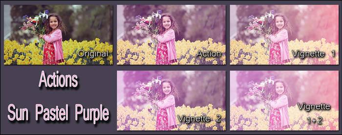 Actions Sun Pastel Purple