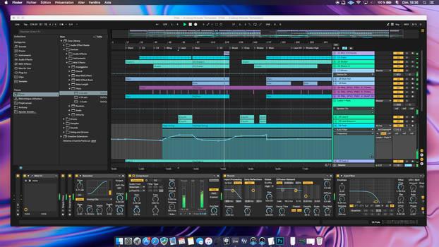 SKIN : Dark 2 for Ableton Live 10