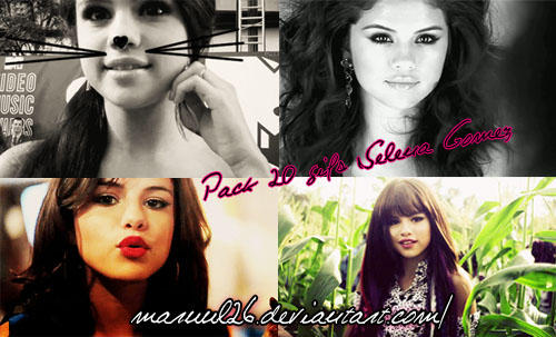 Pack 20 Gifs de Selena by Maruul26