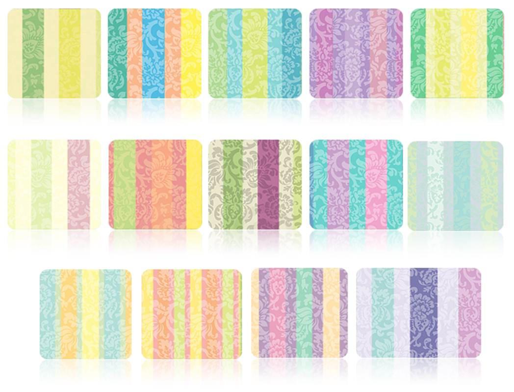 Victorian Stripes Patterns by RubzZ