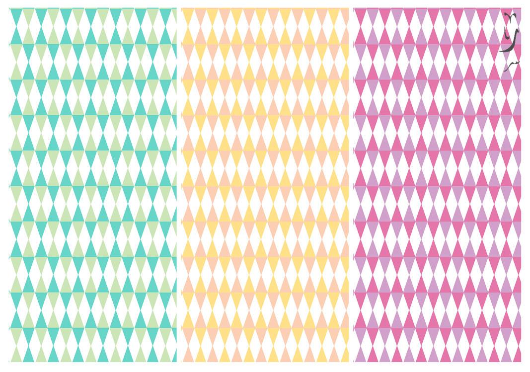 Triangle Patterns by RubzZ